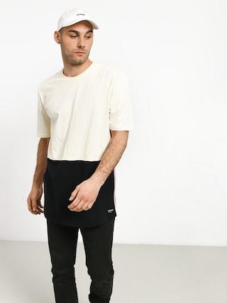 Supra Color Block Crew II T-shirt (bone/black/mauve)