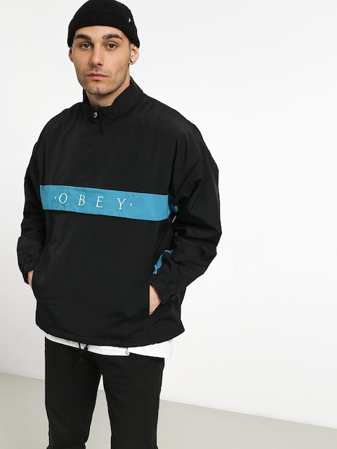 OBEY Title Anorak Jacket (black)