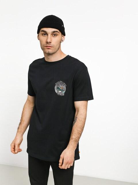 Quiksilver Waterman Whale Sunset T-shirt (black)
