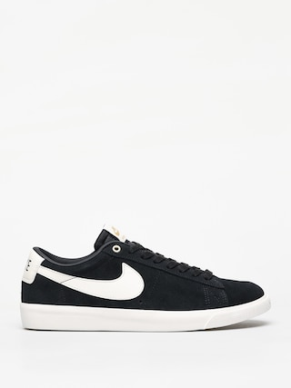 Nike SB Blazer Low Gt Shoes (black/sail)