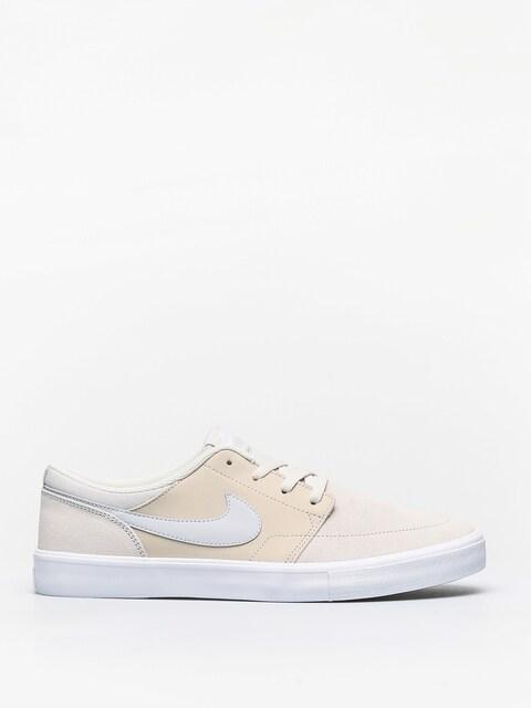 Nike SB Shoes Portmore II Solar (light bone/pure platinium white)