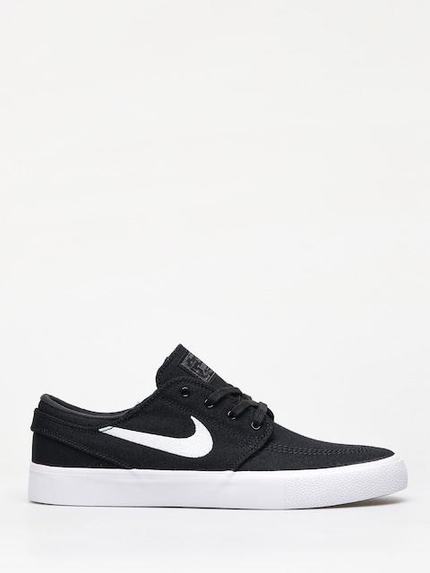 Nike SB Zoom Janoski Cnvs Rm Shoes (black/white thunder grey gum light brown)