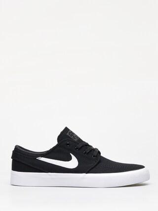 Nike SB Zoom Janoski Cnvs Rm Shoes (black/white thunder grey gum light brown)
