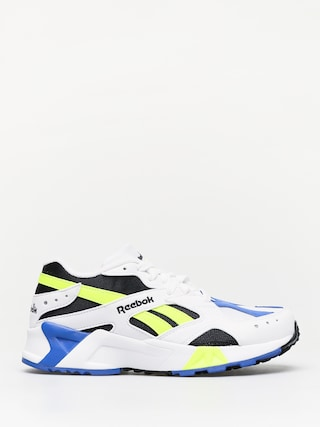 Reebok Aztrek Shoes (white/black/cobalt/y)