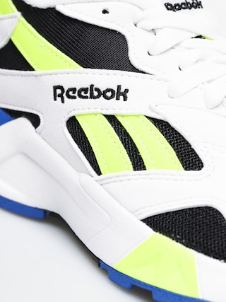 Reebok Aztrek Shoes (white/black/cobalt/y)
