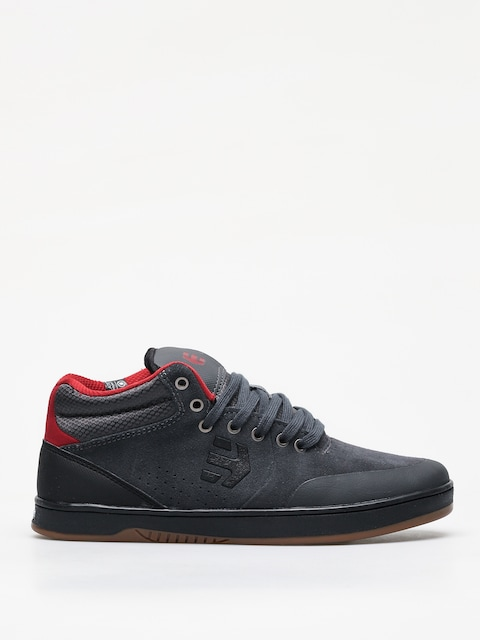 Etnies Marana Mid Crank Shoes (dark grey/black/red)