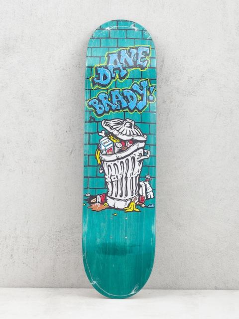 Polar Skate Dane Brady Trash Can Deck (teal)