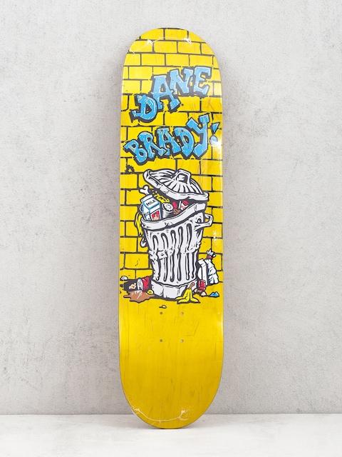 Polar Skate Dane Brady Trash Can Deck (yellow)