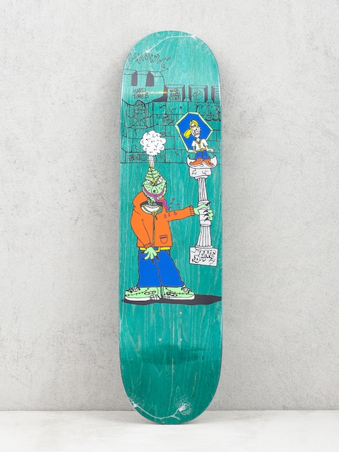 Polar Skate Dane Brady Trophy Deck (green)