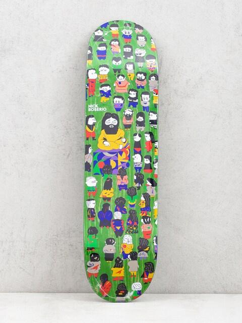 Polar Skate Nick Boserio False Prophets Deck (light green)