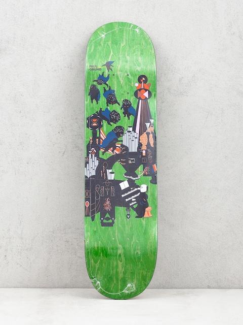 Polar Skate Paul Grund Fortissimo Deck (light green)