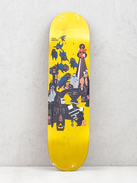 Polar Skate Paul Grund Fortissimo Deck (yellow)