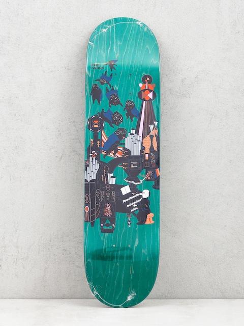 Polar Skate Paul Grund Fortissimo Deck (green)
