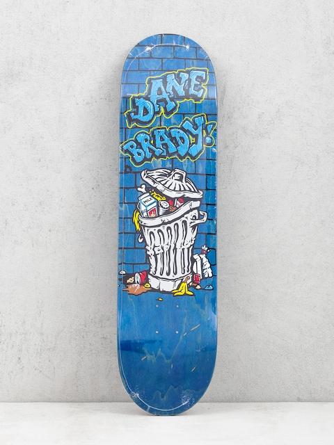 Polar Skate Dane Brady Trash Can Deck (blue)