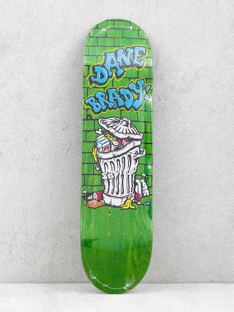 Polar Skate Dane Brady Trash Can Deck (green)