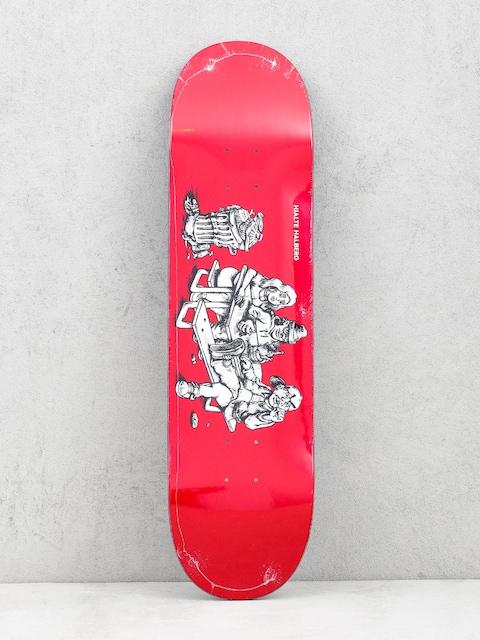 Polar Skate Hjalte Halberg Picknick Deck (red)