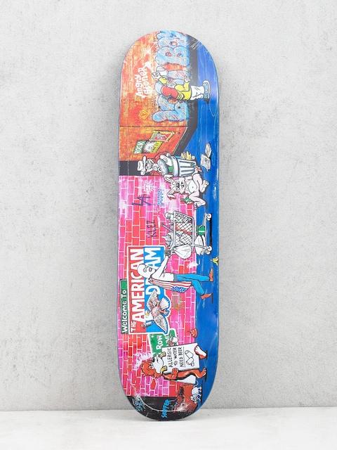 Polar Skate Klez Skid Row Deck (navy)