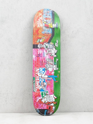 Polar Skate Klez Skid Row Deck (light green)