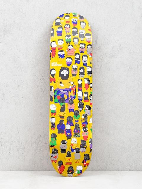Polar Skate Nick Boserio False Prophets Deck (yellow)
