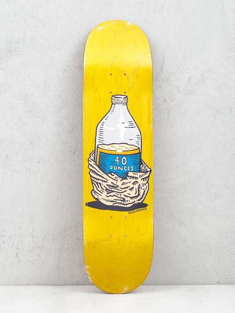 Polar Skate Nick Boserio Forties Deck (yellow)
