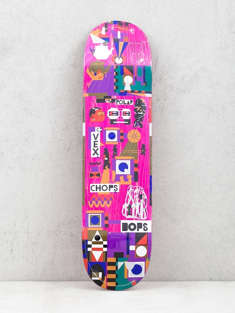 Polar Skate Team Special Operators Deck (pink)