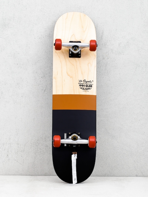 Globe G2 Half Dip 2 Skateboard (natural/rust)
