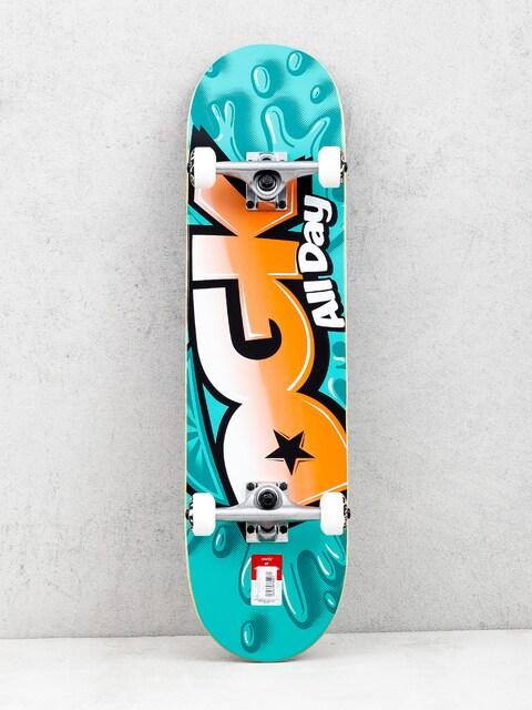 DGK Splash Skateboard (mint/orange)