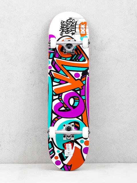 DGK Crazed Skateboard (multi)