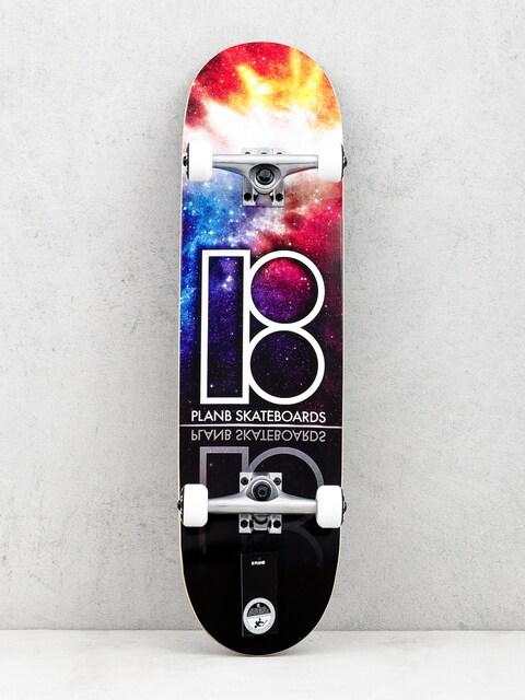 Plan B Nebula Skateboard (multi)