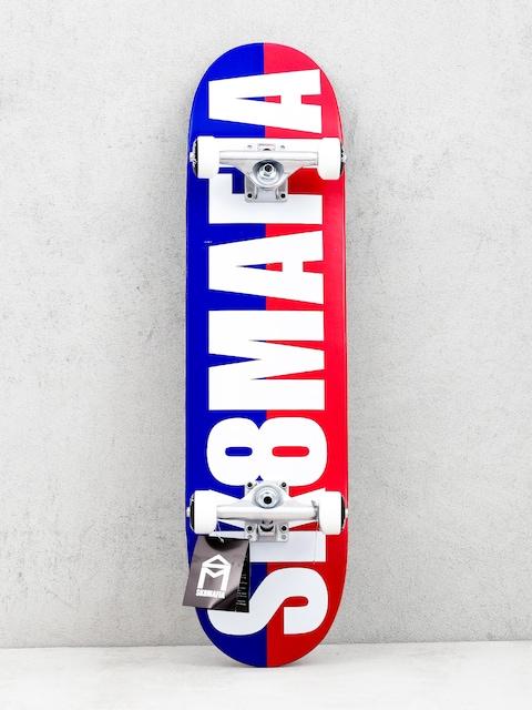 Sk8Mafia Og Logo Skateboard (split white)