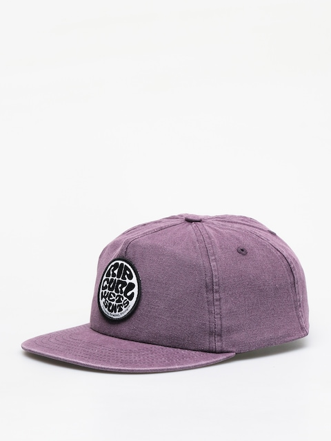 Rip Curl Washed Wetty Snap Back ZD Cap (purple)