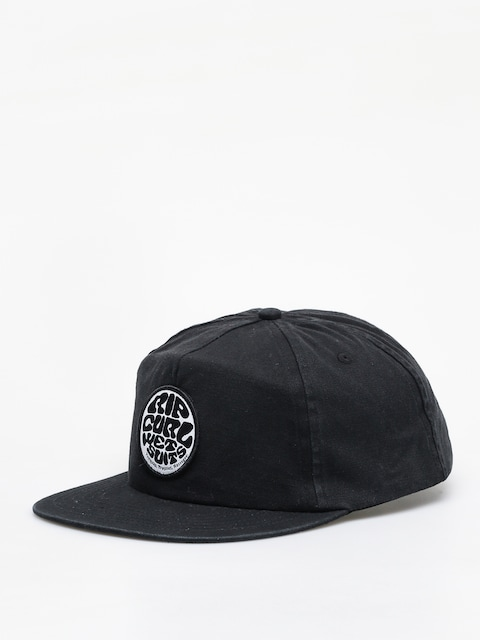 Rip Curl Washed Wetty Snap Back ZD Cap (washed black)