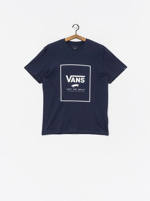 Vans Print Box T-shirt (dress blues/white)
