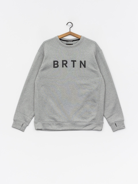 Burton Oak Crew Sweatshirt (gray heather)