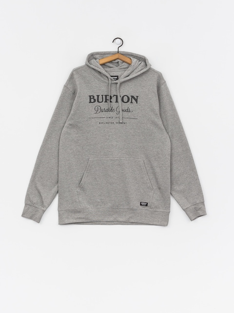 Burton Durable Goods Sweatshirt (gray heather)