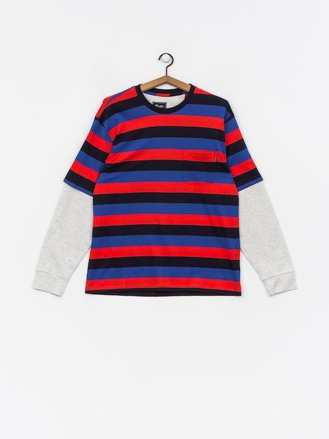 Primitive Two Fer Stripe Crew Sweatshirt