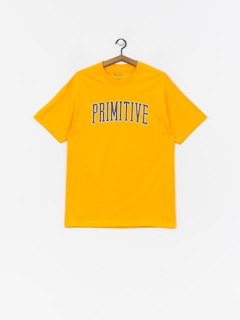Primitive Collegiate Arch Outline T-shirt (gold)