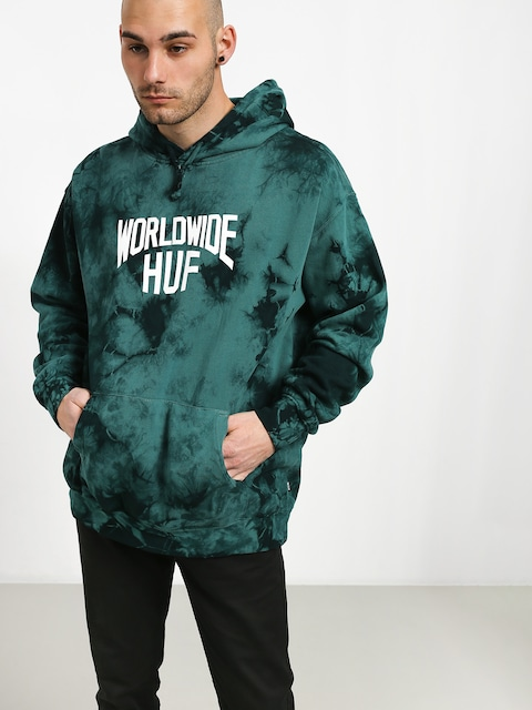 HUF Manhattan HD Hoodie (deep jungle)