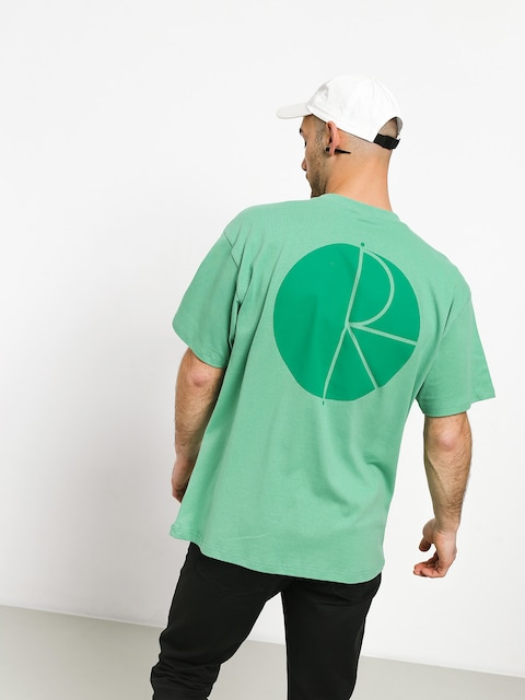 Polar Skate Fill Logo T-shirt (peppermint/dark green)