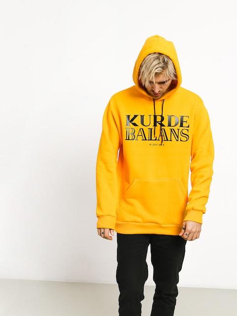El Polako Kurde Balans HD Hoodie (yellow)