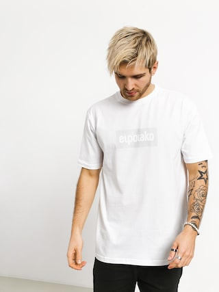 El Polako Logobox T-shirt (white)