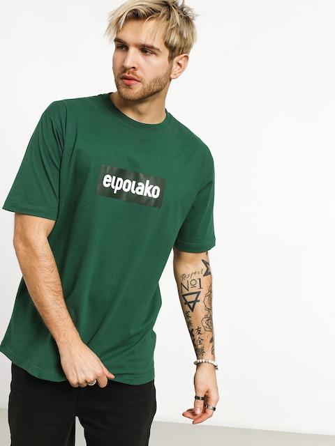 El Polako Logobox T-shirt (green)