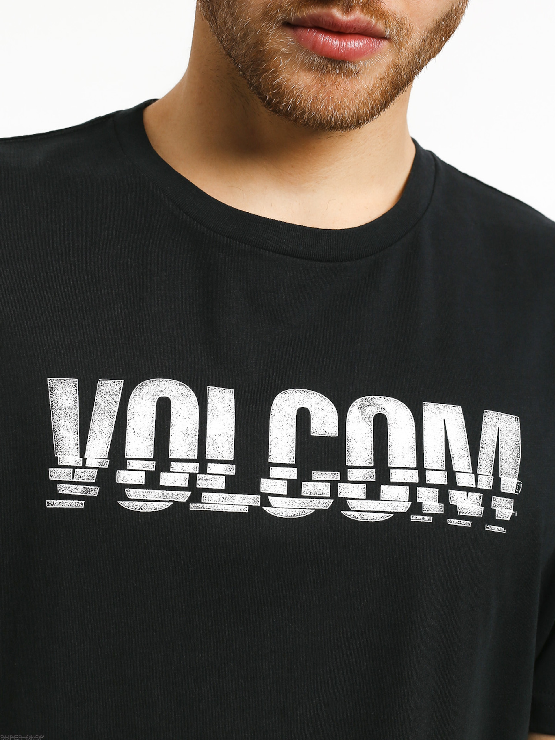 359390c6 Volcom Chopped Edge T-shirt (blk)
