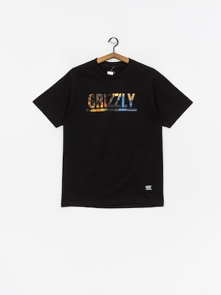 Grizzly Griptape Stamped Scenic T-shirt (black)