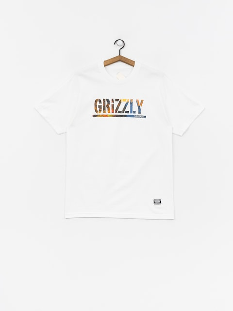 Grizzly Griptape Stamped Scenic T-shirt