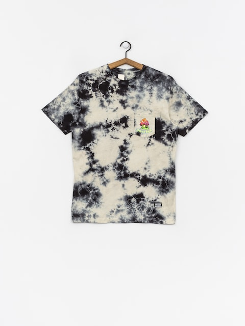 Grizzly Griptape Black Light Bear Pocket T-shirt (white)