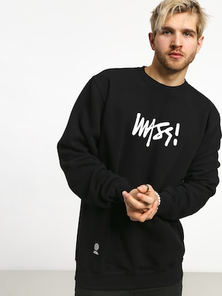 MassDnm Signature Medium Logo Sweatshirt (black)