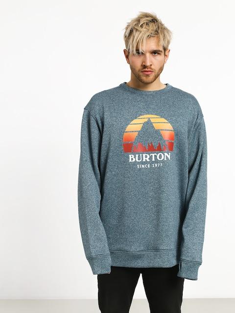Burton Oak Crew Sweatshirt (blue sapphire hthr)
