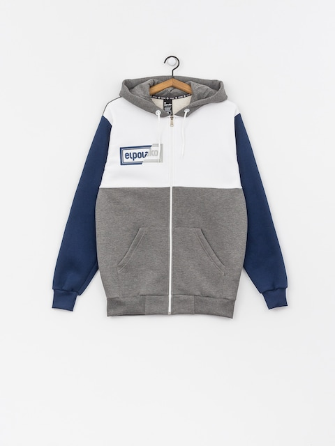 El Polako Cut ZHD Hoodie (grey/white/navy)
