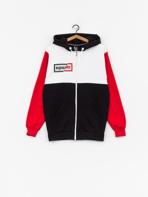 El Polako Cut ZHD Hoodie (black/white/red)